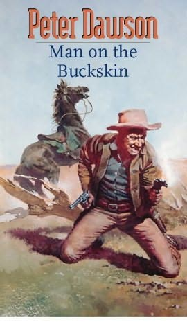 book cover of The Man on the Buckskin