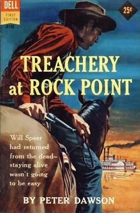 book cover of Treachery at Rock Point