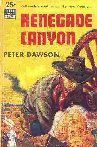 book cover of Renegade Canyon