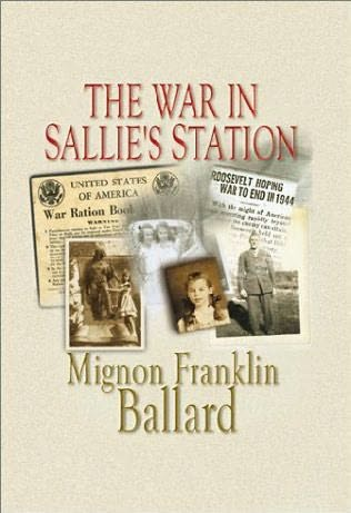 book cover of The War in Sallie\'s Station
