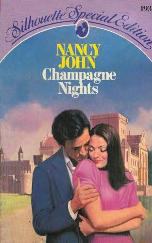 book cover of Champagne Nights