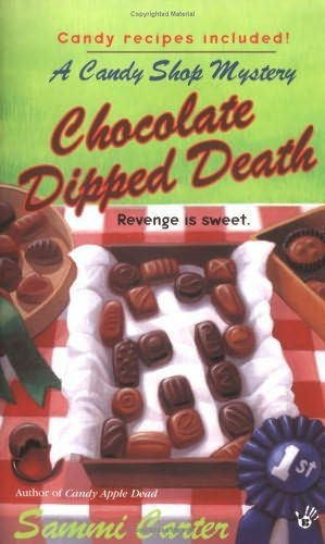 book cover of Chocolate Dipped Death