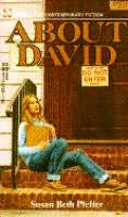book cover of About David