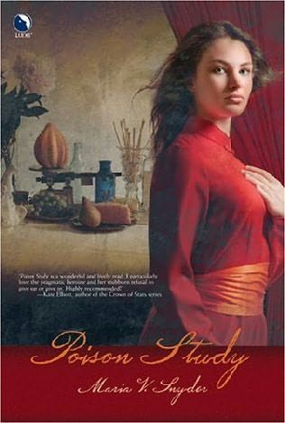 book cover of   Poison Study    (Study, book 1)  by  Maria V Snyder