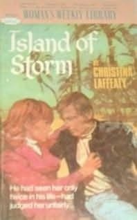 book cover of Island of Storm