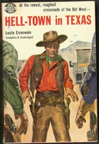 book cover of Hell-town in Texas