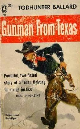 book cover of Gunman from Texas