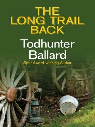 book cover of The Long Trail Back