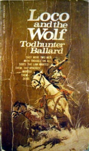 book cover of Loco and the Wolf