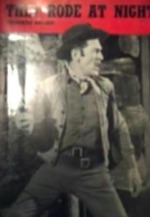 book cover of They Rode At Night