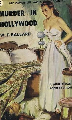 book cover of Murder in Hollywood