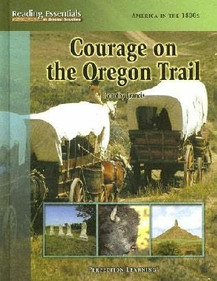 book cover of Courage On the Oregon Trail