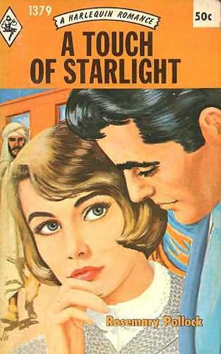Harlequin Romance Book Covers ~ A touch of starlight by rosemary pollock