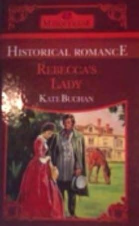 book cover of Rebecca\'s Lady