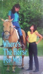 book cover of Where\'s the Horse for Me?