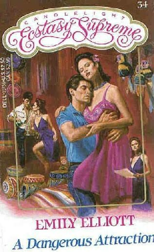 book cover of A Dangerous Attraction