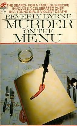 book cover of Murder on the Menu