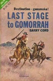 book cover of Last Stage to Gomarrah