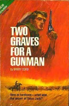 book cover of Two Graves for a Gunman