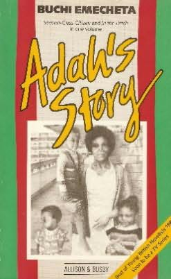 book cover of Adah\'s Story