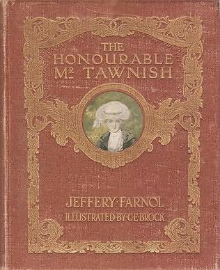 book cover of The Honourable Mr. Tawnish