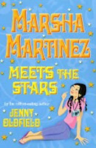 book cover of Marsha Martinez Meets the Stars