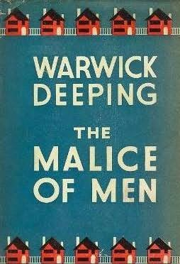 book cover of The Malice of Men