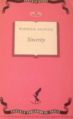 book cover of Sincerity