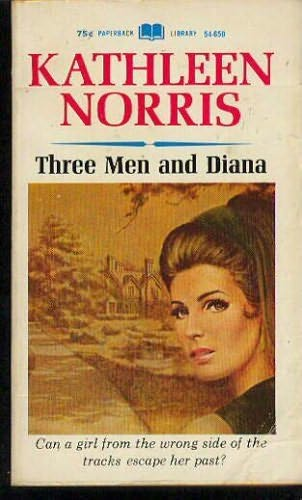 book cover of Three Men and Diana