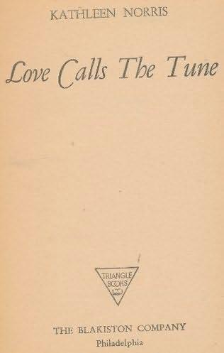 book cover of Love Calls the Tune