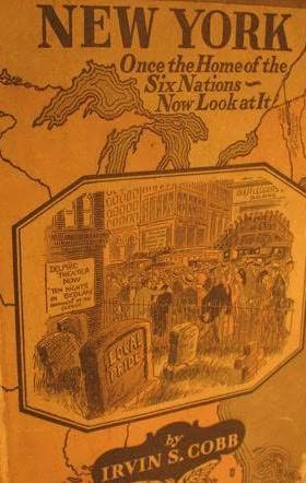 book cover of New York