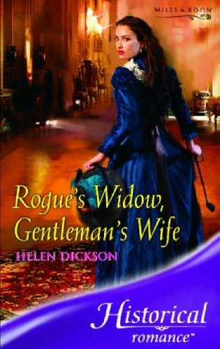 book cover of Rogue\'s Widow, Gentleman\'s Wife