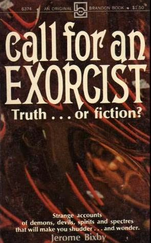 book cover of Call for an Exorcist