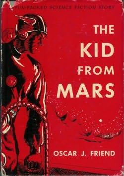 book cover of The Kid from Mars