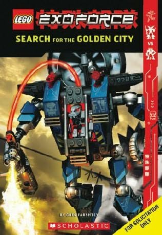 book cover of Search for the Golden City