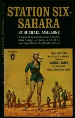 book cover of Station Six Sahara