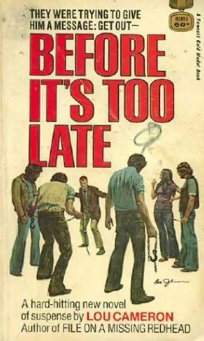 book cover of Before It\'s Too Late