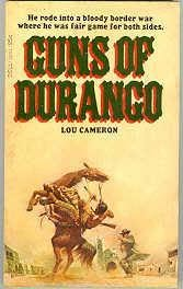 book cover of Guns of Durango