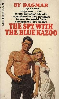book cover of The Spy with the Blue Kazoo