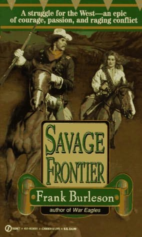 book cover of Savage Frontier