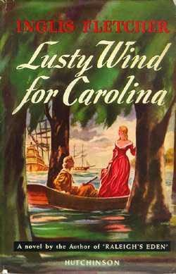 book cover of Lusty Wind for Carolina
