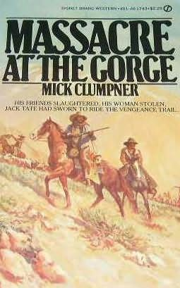 book cover of Massacre at the Gorge