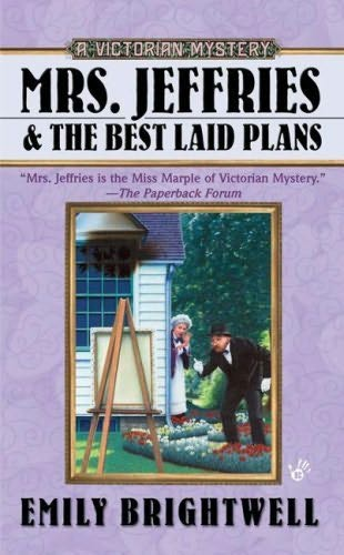 book cover of Mrs Jeffries and the Best Laid Plans