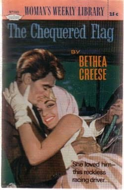 book cover of The Chequered Flag