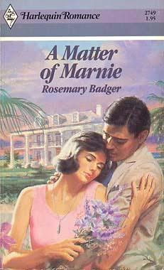 book cover of A Matter of Marnie