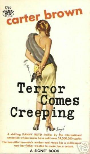 book cover of Terror Comes Creeping