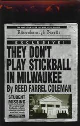 book cover of They Don\'t Play Stickball in Milwaukee