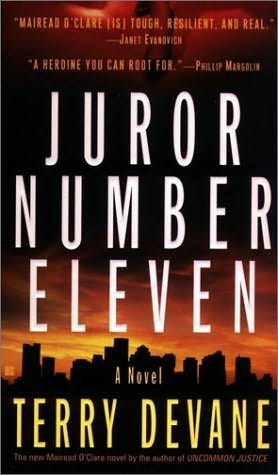 book cover of Juror Number Eleven