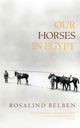 book cover of Our Horses in Egypt