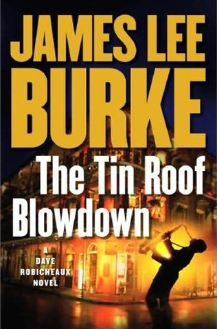 book cover of The Tin Roof Blowdown
